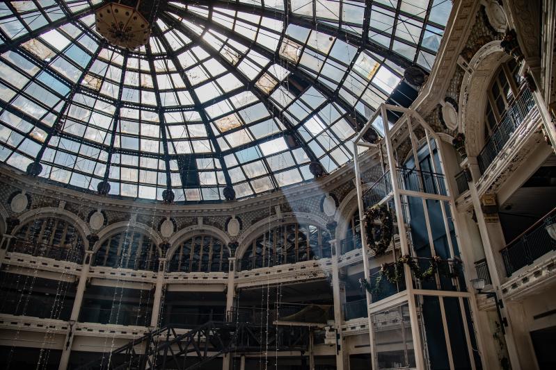Rotunda of the Dayton Arcade by Tom Gilliam